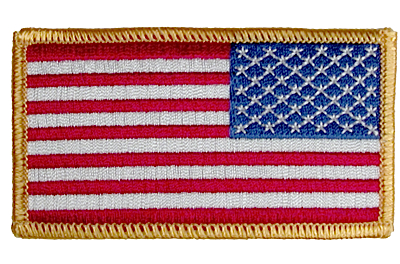54604 - American Flag - right sleeve