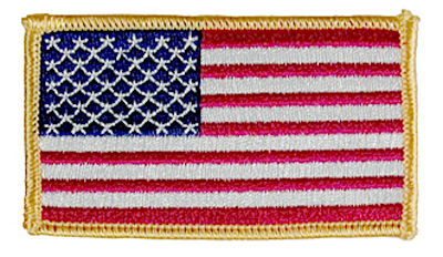 54605 - American Flag - left sleeve