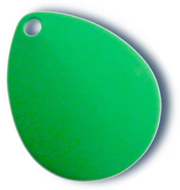 -6 - Colorado Blade #2 Fluorescent Green - 10 Pack