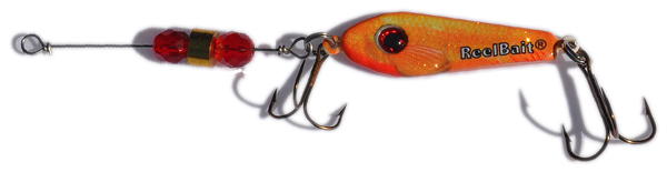 55584 - Goldfish w/Red Beads - 1/2 oz Prototype Fergie Spoon