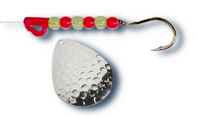 -113 - Hammered Nickel w/ Perch Beads